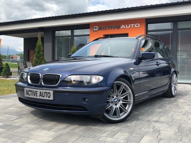 BMW Rad 3 Touring 320d e46