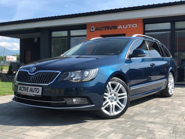Škoda Superb Combi 2.0 TDi DSG Laurin & Klement