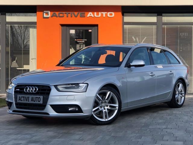 Audi A4 Avant 2.0 TDi 3x S-line