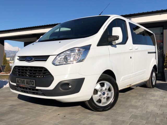 Ford Tourneo Custom 2.0TDCi TITANIUM,  záruka do 5/2020